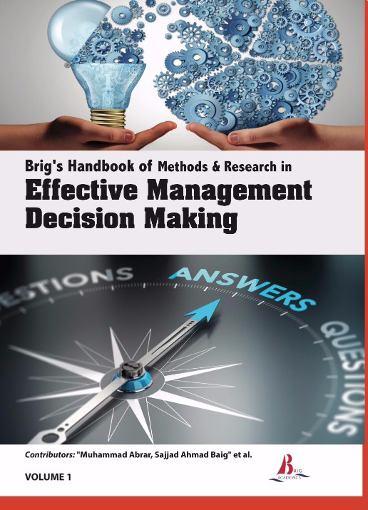 Brig's Handbook of Methods & Research in Effective Management Decision Making
